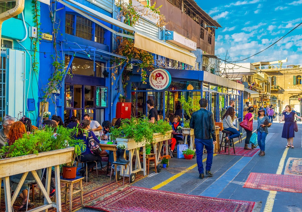 Tel Aviv restaurants cafe